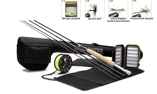 Trademark global fly fishing academy for Fly fishing starter kit